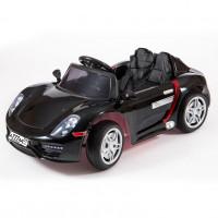 Электромобиль детский Porsche 45535  (Р) черный-глянец
