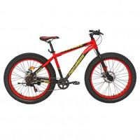 Велосипед 26 Fat bike Nameless J6800DF-RD/YL-18 , красный/жёлтый