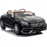 Электромобиль детский Mercedes-Maybach S650 Cabriolet ZB188,  50523 (Р) полный привод, чёрный, глянец