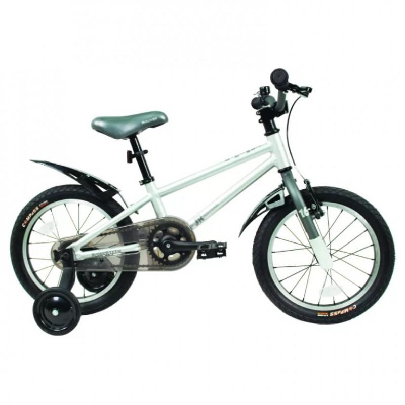 Велосипед 16  TT Gulliver серый (алюмин)