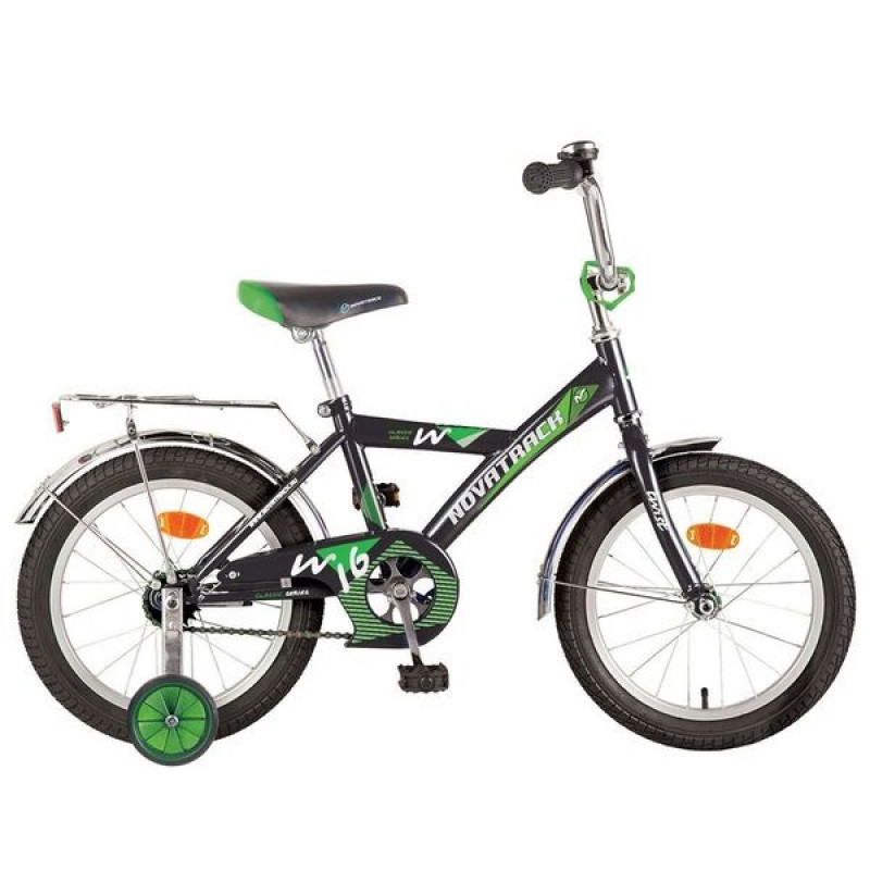 Велосипед 12 Novatrack Twist.BK7 черный.нож/т
