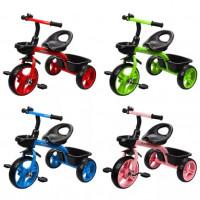 Детский 3-х колёсный велосипед 641239  Родстер 10*8 , в ассортименте