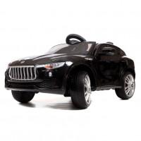 Электромобиль детский Maserati Levante 45513 (Р)  черный глянец