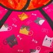 Тюбинг  CH-105-ГЛАМУР-Кошки розовый в оранжевом 2022,1/10 ,цена с камерой д=105см new