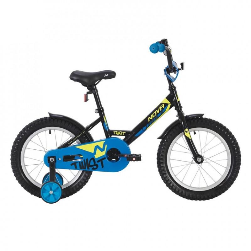 Велосипед 20 Novatrack Twist.BK20 чёрный