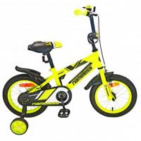 Велосипед 14 Nameless Sport жёлтый/чёрный