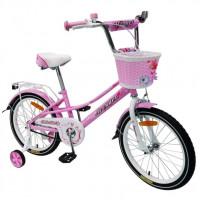 Велосипед 18  AVENGER LITTLE STAR, розовый/белый