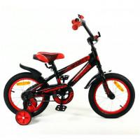Велосипед 16 Nameless Sport, чёрный/красный