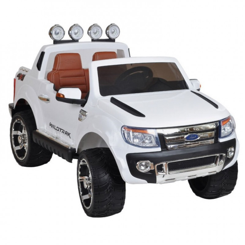 Электромобиль детский Ford Ranger  45441 (Р) (Лицензионная модель)  белый, глянцевый
