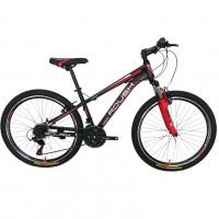 Велосипед 24 Roush 24V200-2 красный матовый