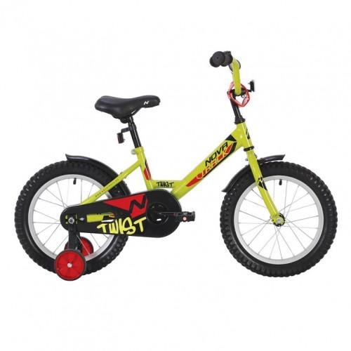 Велосипед 18  Новатрек TWIST.GN20 зелёный нож/т