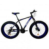 Велосипед 26 Fat bike Roush 26FMD250 AL PRO-2 синий матовый