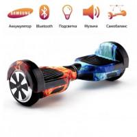 Гироскутер  6,5  Smart Balance Wheel Огонь и лёд Музыка + Самобаланс Whell new