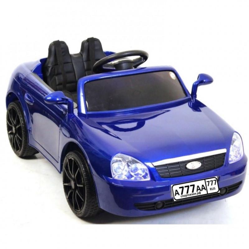 Детский электромобиль Lada 50196 синий глянец