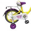 Велосипед 16 OSCAR KITTY желтый/фиолетовый