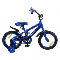 Велосипед 16 Nameless Sport, синий/черный