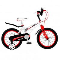 Велосипед 18 Bibitu PONY белый