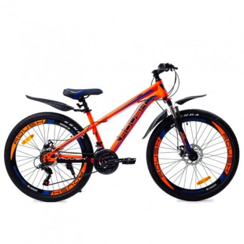 Горный велосипед 26 Roush 26MD200-4 зелёный матовый