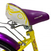 Велосипед 12 OSCAR KITTY желтый/фиолетовый