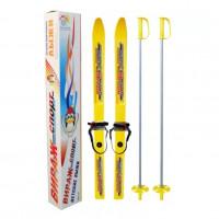 Лыжный комплект  Вираж-спорт 100/100см с палк.в коробке