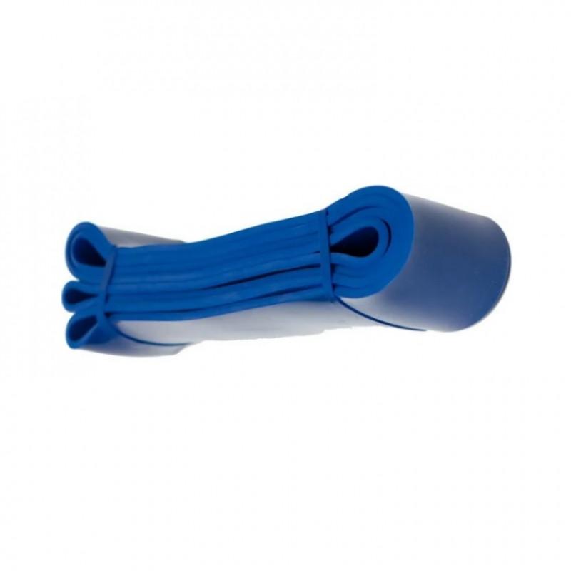 Резина для фитнеса большой , синий