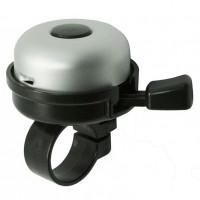 Звонок NUVO, алюминиевая крышка O55 мм / пластмассовый корпус / руль O 22,2 мм