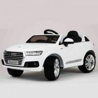Электромобиль детский Audi Q7 45417 (Р) белый, глянцевый