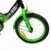 Велосипед 18 OSCAR TURBO Black-GREEN (черный/зеленый) 2021