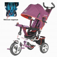 Детский 3-х колёсный велосипед TT 950D фиолетовый