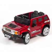 Электромобиль детский Hummer 45538 (Р) вишневый глянец