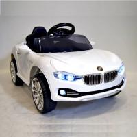 Электромобиль детский BMW 34535 12в р-у откр.дв кож,черный