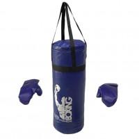 Груша набор + перчатки большой синий