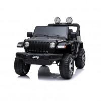 Электромобиль детский JEEP RUBICON DK-JWR555  51694 (P) полный привод , чёрный глянец