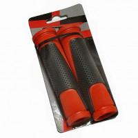 Грипсы Х82238 HL-G305, 135 мм, черные/красные
