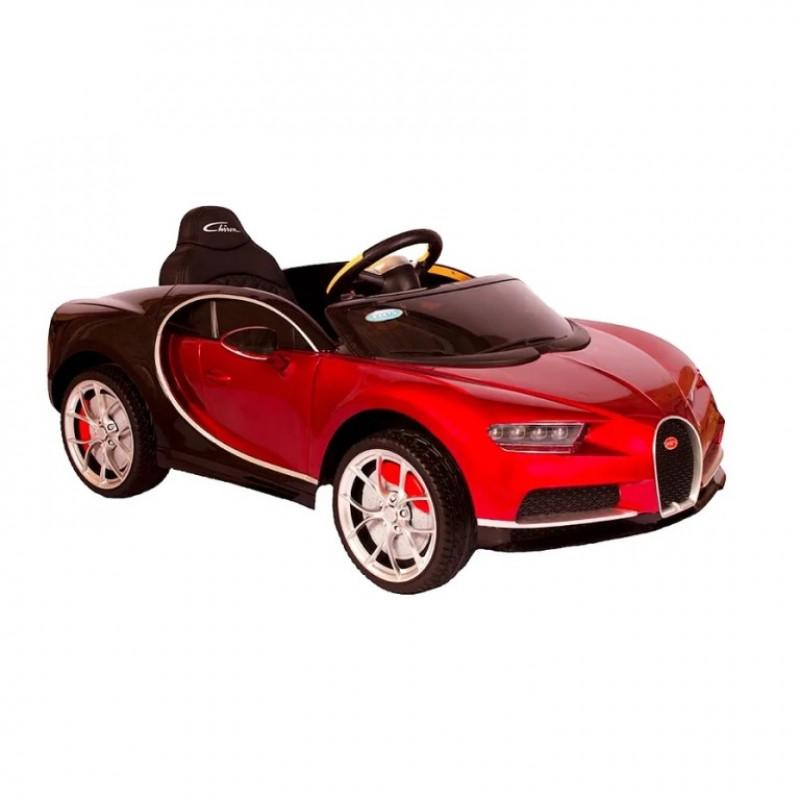 Электромобиль детский Bugatti Chiron HL318  51620 (Р) красный