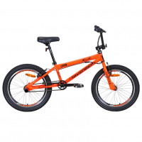 Велосипед трюковой 20 Avenger C201B-ORN/BL(21), оранжевый неон