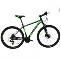 Велосипед 27,5 Roush 27MD210-3 зелёный матовый
