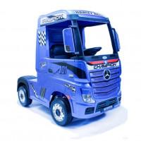Детский электромобиль Mercedes-Benz HL358 Actros 50373 (Р) синий глянец