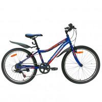Велосипед 24 Nameless S4400D-BL/OR-13(21), синий/оранжевый