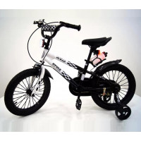 Велосипед 14 Riverbike F-14 белый/чёр