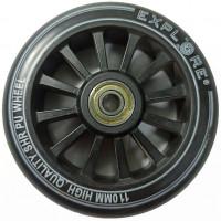 Колесо для трюковых самокатов Explore WHEELS 110мм PP +подшипник,пластиковая ступица