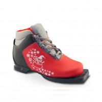 Ботинки лыжные  32р. 75мм Marax M 350 крас.