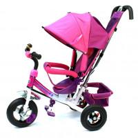 Велосипед 3-х кол. Formula F-5000 PINK 10/8 AIR розовый колёса надувные