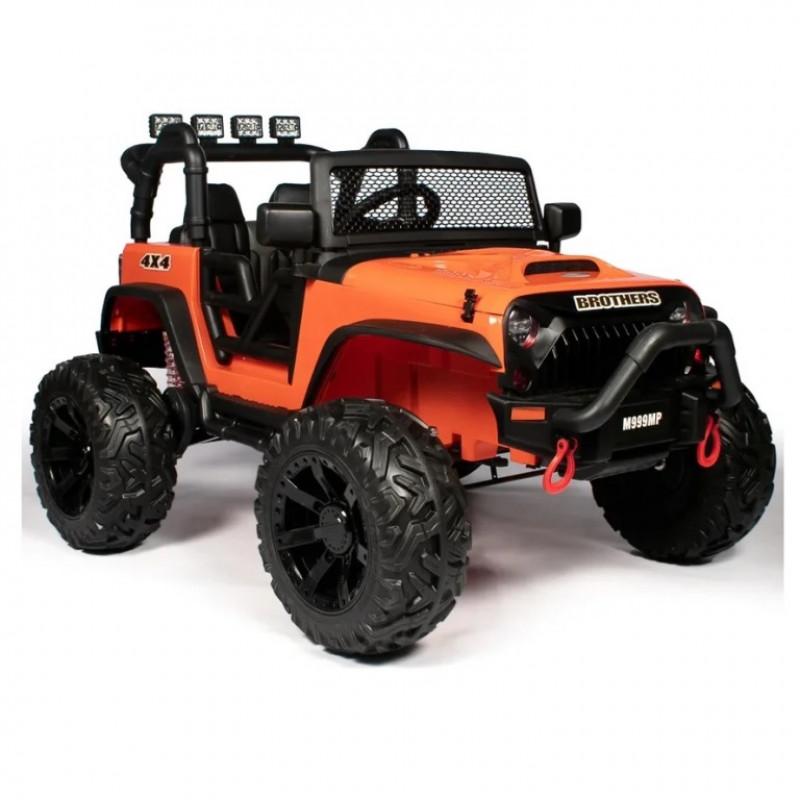 Электромобиль детский Jeep Wrangler M999MP  51700 (P) , оранжевый глянец