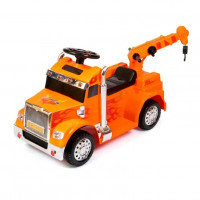 Электромобиль детский ZPV100  50463 (Р) оранжевый