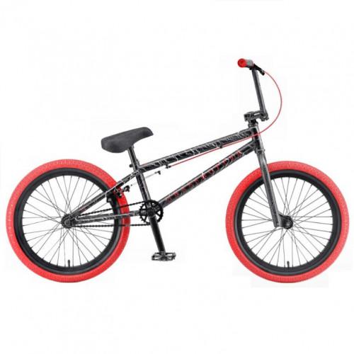 Велосипед трюкавой 20 TT Grasshoper черно-красный (АКЦИЯ!!!)