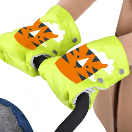 Рукавички для санок РС2 Тигр лимонный РС2