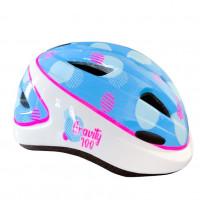 Шлем   850036  (24) GRAVITY 100 детский голубой/розовый