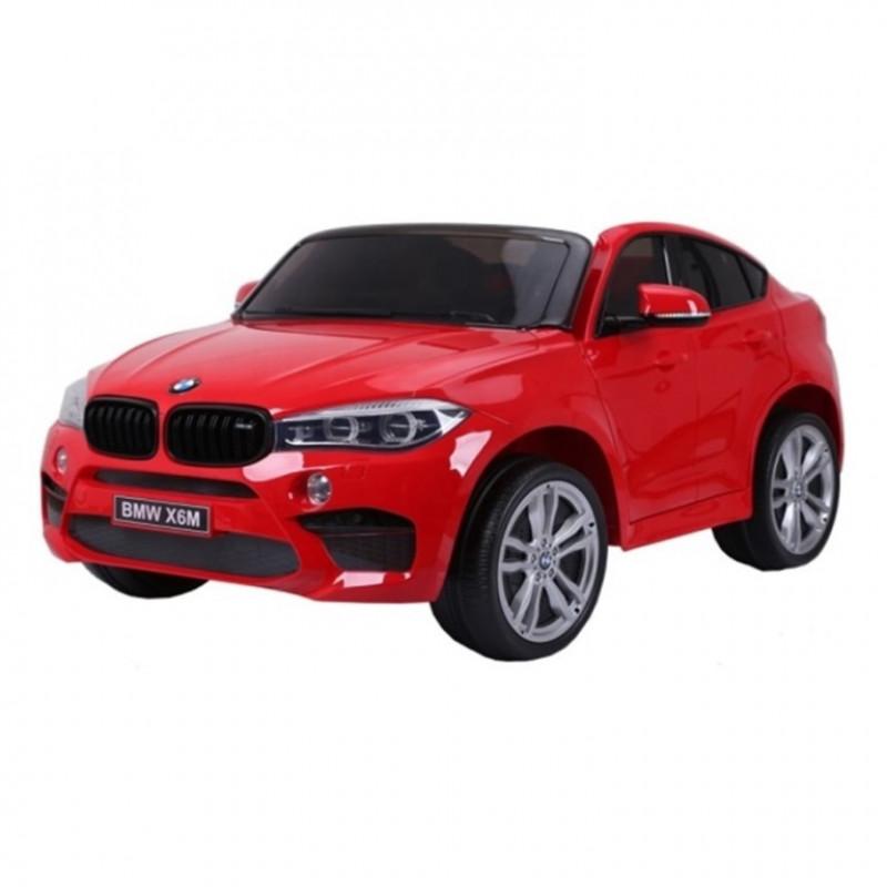 Электромобиль детский BMW X6M 45549 (Р) одноместный красный глянец
