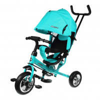 Детский 3-х колёсный велосипед 641339  Start 10*8 EVA, бирюза